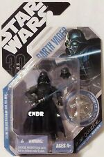 """NEW Star Wars TAC 30th 3.75"""" figure McQuarrie Concept DARTH VADER with Coin #28!"""