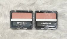 2x Covergirl Cheekers 170 Golden Pink .12 Oz Easy Natural Blendable Blush Sealed