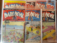DAREDEVIL GOLDEN AGE LOT OF 7 ISSUES 52 53 54 56 57 58 59 - GD/VG