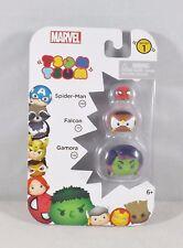 Marvel Tsum Tsum Series 1 - New #05544 - Spider-Man, Falcon & Gamora