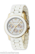 Michael Kors MK5145 Women's Two Tone Stainless Steel Quartz Chronograph Watch