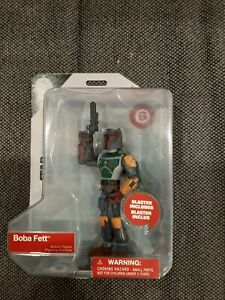 "BOBA FETT Star Wars Toybox Disney Store 5"" Action Figure 2018 Jedi"