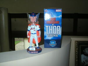NOAH SYNDERGAARD THOR MARVEL BOBBLEHEAD--SGA-NEW YORK METS-ORIGINAL BOX