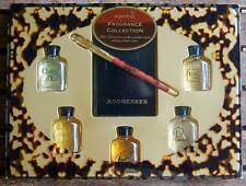 Estuche 5 Perfumes Miniatura Superdrug Fragrance Collection + Agenda + Bolígrafo