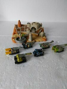Star Wars Micro Machines Episode I 1 Action Playset Pod Race Arena+7 Pod Racers