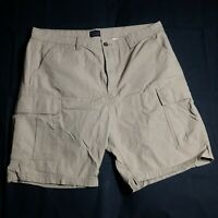 Levi's Men's Beige 6 Casual Pocket Cargo Shorts 100% Cotton Size 40