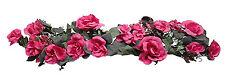 FUCHSIA PINK  SWAG Silk Wedding Flowers Roses Hydrangea Arch Gazebo Centerpieces