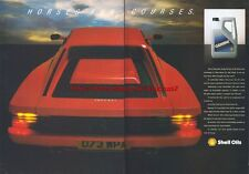 Shell Gemini Motor Oil 1987 Magazine Advert #2911