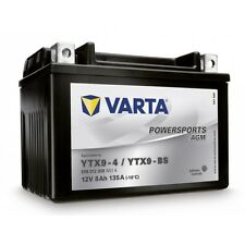 Varta YTX9-BS  508012 Motorradbatterie-Funstart AGM (LF)-4Y TX9-BS 12V 8AH 80A