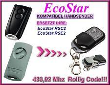 Ecostar RSC2 / Ecostar RSE2 Kompatibel Handsender, Ersatz sender 433,92Mhz