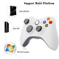 1/ 2 Wireless Controller Gamepad Joypad For Microsoft XBOX 360 Windows PC MAC US