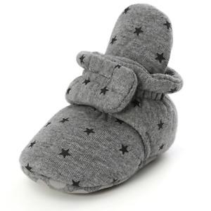 Newborn Baby Socks Shoes Boy Girl Soft Anti-slip Warm Infant Crib Shoes