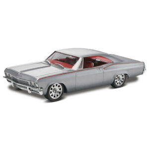 Revell 1:25 Scale 1965 Chevy Impala Coupe 22cm Car Vehicle 12y+ Model Kit Grey