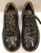 ECCO Men 41 EU 7 7.5 US Fusion Bicycle Toe Stitched Casual Walking Oxfords Brown
