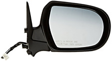 Fits 05-09 Legacy / Outback Right Pass Mirror Pwr Unpainted Black No Heat,Signal