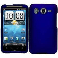 Hard Rubberized Case for HTC Inspire 4G - Blue