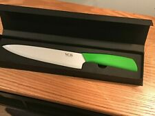 "8"" VOS Ceramic Knife Chef, NIB - Green By Vos"