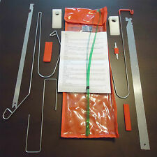 Kit de útiles para abrir puertas de vehiculos 11 piezas
