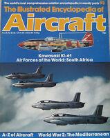The Illustrated Encyclopedia of Aircraft Issue 93 Kawasaki Ki-61 cutaway drawing