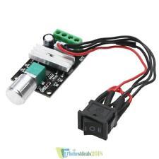 PWM 6V 12V 24V 3A DC Motordrehzahlregler Vorwärts Rückwärts w/ Switch Leistung