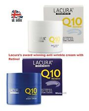 With RETINOL **Award winning** Anti-wrinkle Q10 50ml LACURA Day & Night Cream