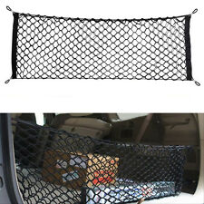 1* Car Rear Trunk Cargo Organizer Storage Elastic Nylon Hammock Holder Mesh Net