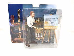 "Vincent Van Gogh 7"" Action Figure Fine Arts New Sealed Historical Toy RARE"