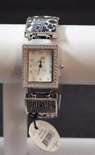 Jilzara Black White Square Watch Polymer Clay Inlays Stretch Band Artisan