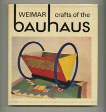 1967 W. Scheidig WEIMAR BAUHAUS CRAFTS Breuer LINDIG Stölzl WAGENFELD Schlemmer