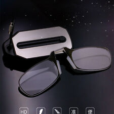 TR90 Clip Nose Reading Glasses wallet glasses Portable reader with with key ring