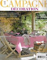 Campaign Decoration French Magazine Blooming Houses Grand Recipes Gardens 2012