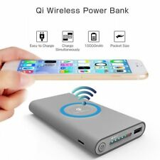 DIY 500000mAh Power Bank 2 in 1 Wireless Charger Case Portable No Battery #ts