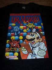 VINTAGE STYLE ORIGINAL DR. MARIO NES  Nintendo T-Shirt ARCADE LARGE NEW