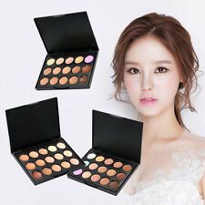 15 Colour Set Makeup Cream Contour Contouring Concealer Foundation Palette Kit
