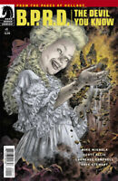 B.P.R.D. Comic Issue 1 The Devil You Know Modern Age First Print 2017 Mignola