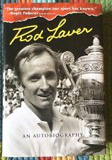 Rod Laver Signed Autographed Auto Book An Autobiography Roger Federer Tennis HOF