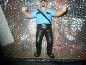 WWF LJN Wrestling Superstars 1989 Big Boss Man - Grand Toys LTD CUSTOM REPAINT .