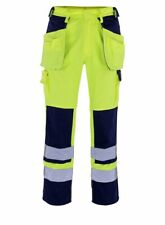 Mascot Almas size 82C49 men's measured HIGH VIS work trousers - Holster pockets