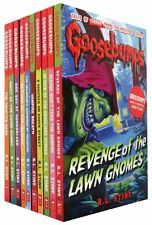 The Classic Goosebumps Series R L STINE 10 Books Set Collection Children Pack