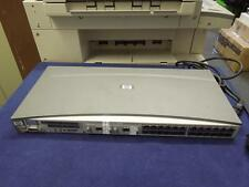 HP J4813A SWITCH 2524 24 PORT SWITCH W/2 HP J4834A TRANSCEIVER w POWER CORD