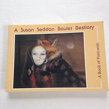 Susan Seddon Boulet Bestiary Book of Postcards