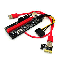 PCI-E 1x-16x Extender Riser 009s 60cm. USB 3.1 Card Adapter Cable GPU Mining