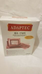 ADAPTEC AVA-1505 ISA-FAST SCSI-2 HOST ADAPTER-Sealed, shrink-wrapped retail pack