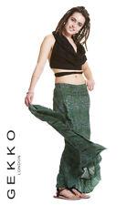 FLAMENCO SKIRT, long skirt, paisley boho skirt, GEKKO skirt, steampunk clothing
