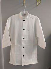 Uncommon Threads Unisex 3 Pocket 3/4 Sleeve Server Coat 0420So ( Xl )