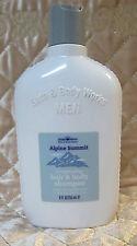 Vintage Bath & Body Works ALPINE SUMMIT Hair & Body Shampoo for Men 8 fl oz READ