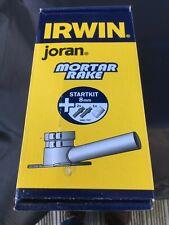 Irwin Mortar Rake Guide