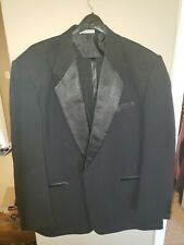 Richard Harris Mens 1 Button Notch Lapel Modern Fit Tuxedo 50L / 44-32