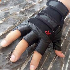 Herren Weich Mode PU Leder Fahren Motorradfahrer Fingerlose Warme Handschuhe Hot