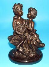 Beautiful AUGUSTE MOREAU French ART NOUVEAU BRONZE Sculpture CHILDREN PLAYING